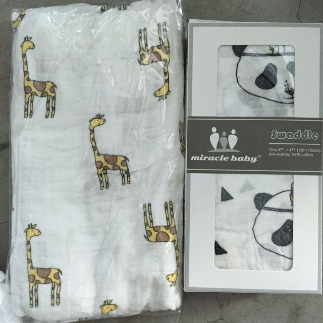 Brand New muslin Cotton swaddling Blankets