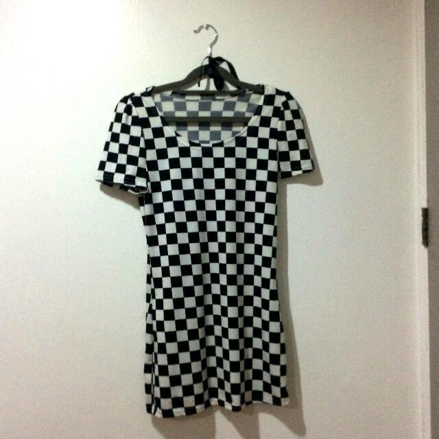 Chess Shirt/ Dress