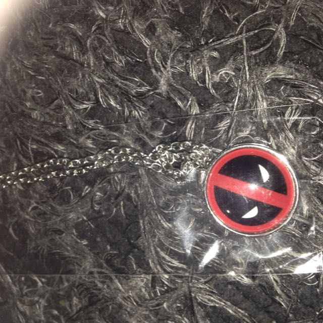 Dead pool Costume Jewellery