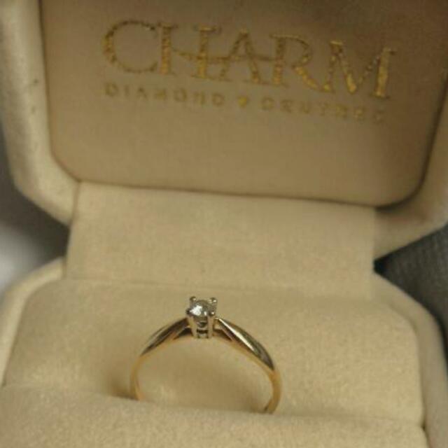Diamonds, 10k Gold , 6 Size.