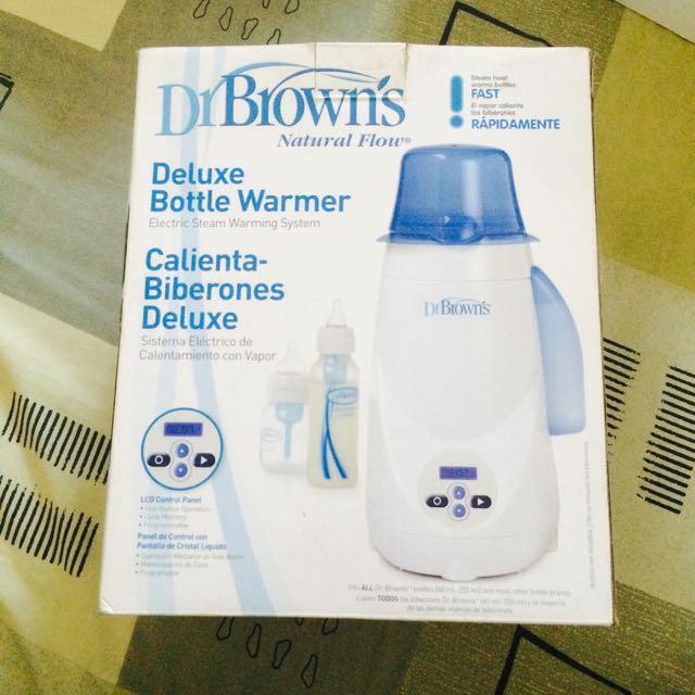 Dr. Brown's Natural Flow (Pemanas Botol Susu Dan Asi Beku)