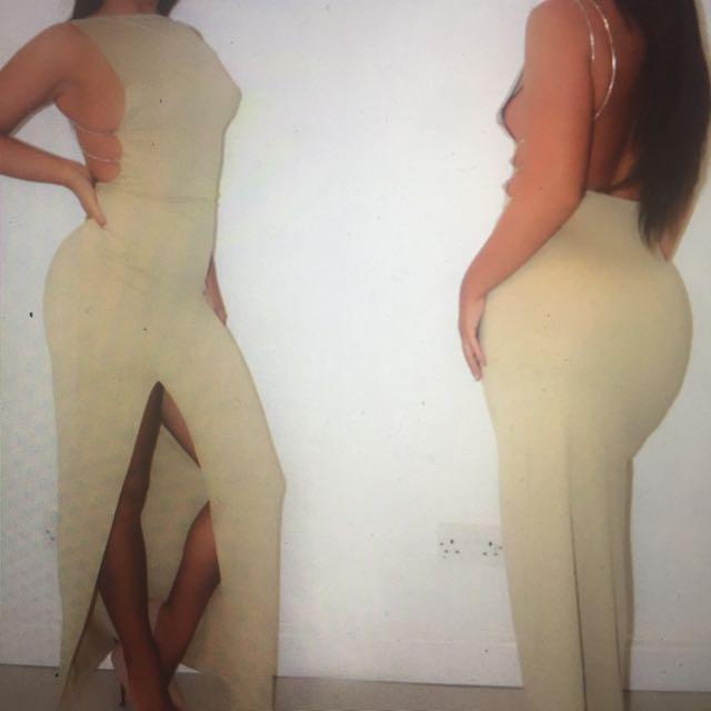 Elegant Yet Sexy Maxi Dress With Split