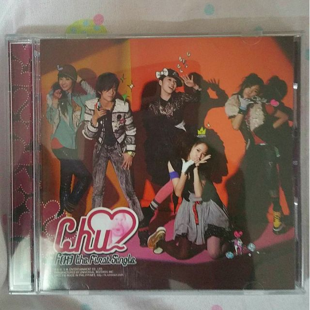 f(x) First Mini-Album Chu