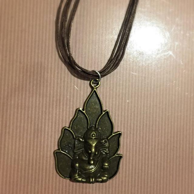 Ganesh/Holy Elephant Necklace