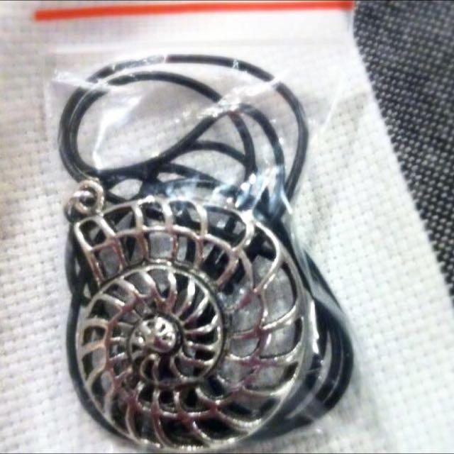 Spiral Golden Ratio Pendant