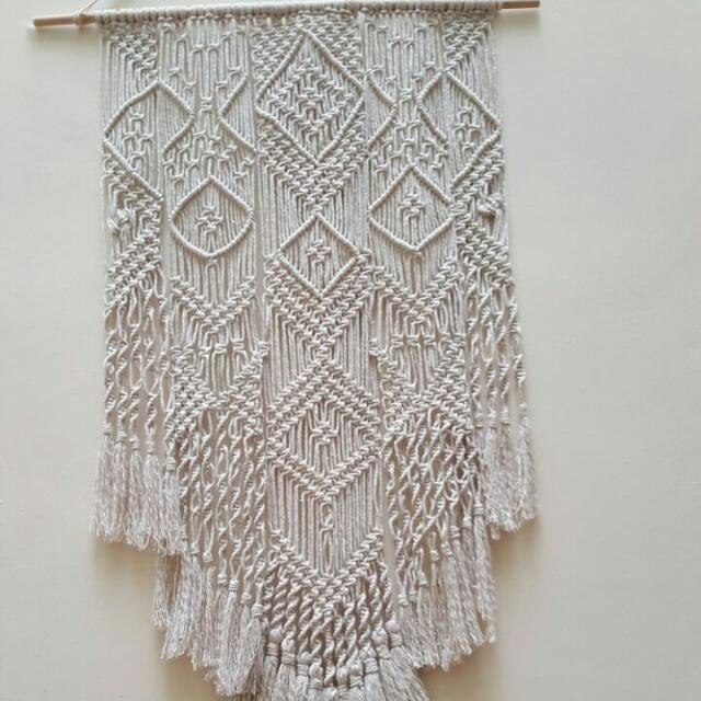 💖💖Handmade Macrame Wall Hanging - Unity