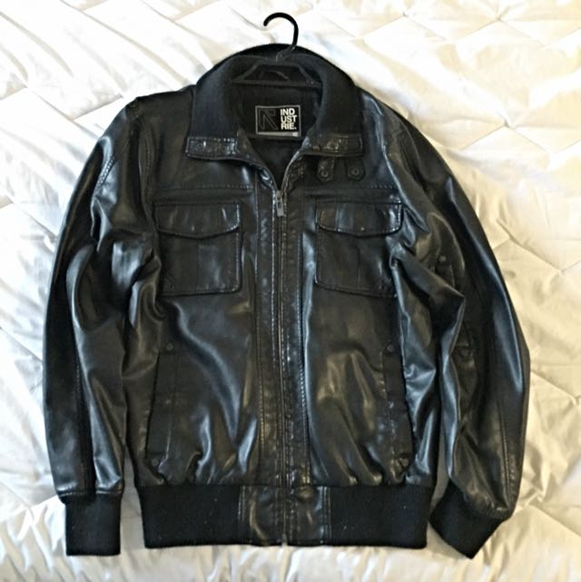 INDUSTRIE LEATHER JACKET