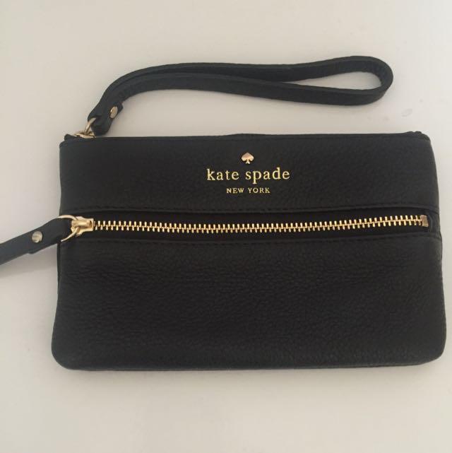 Kate Spade Black Pouch