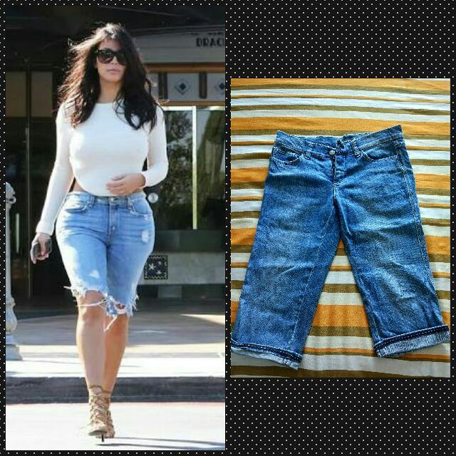 Kim Kardashian Style Shorts