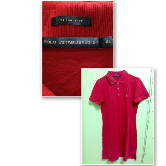 Long polo Slim Fit