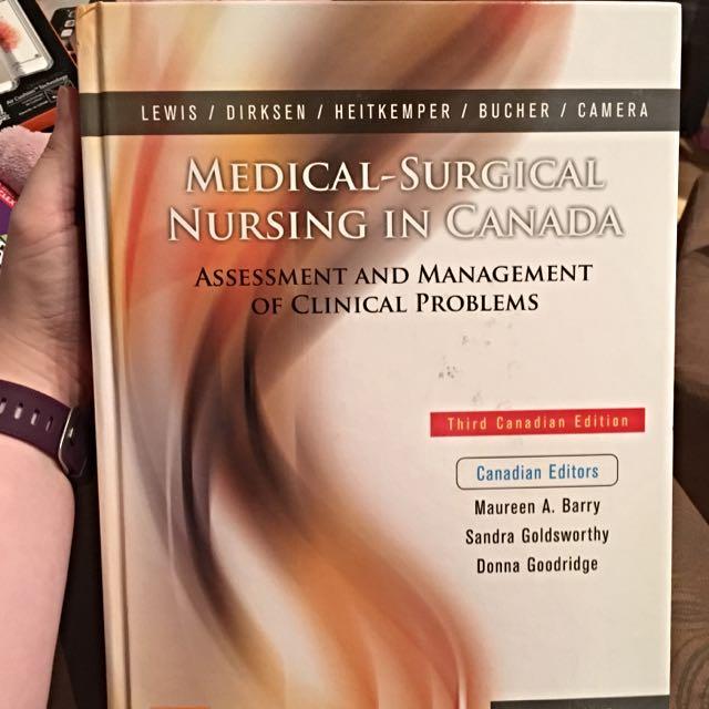 Medical Surgical Nursing In Canada