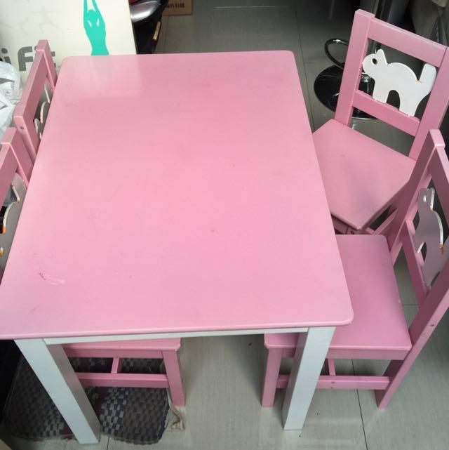 Meja + kursi anak