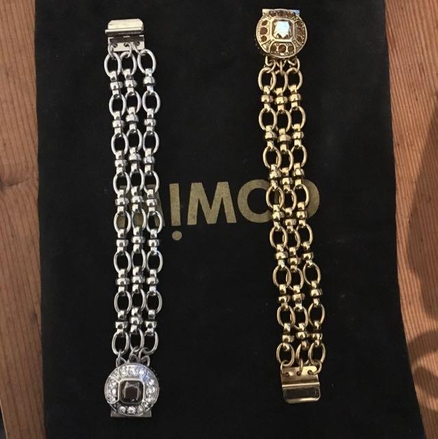 Never Worn Mimco Clasp Bracelet
