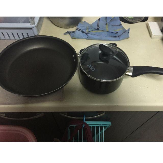 Non-stick Teflon Frying Pan & Pot