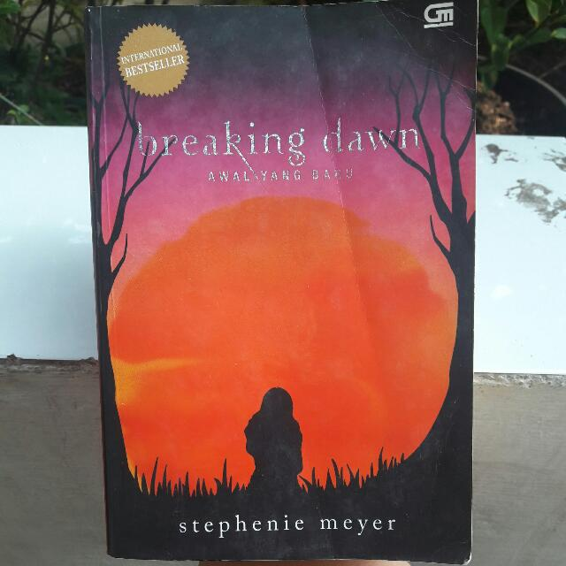 NOVEL BREAKING DAWN [Stephenie Meyer]