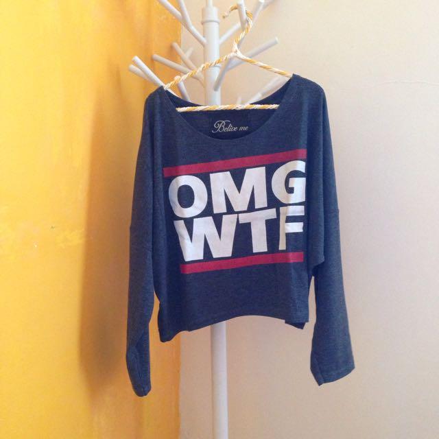 OMG WTF sweater