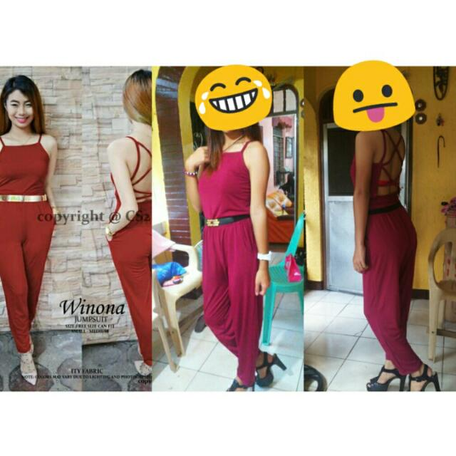 Overall Maroon