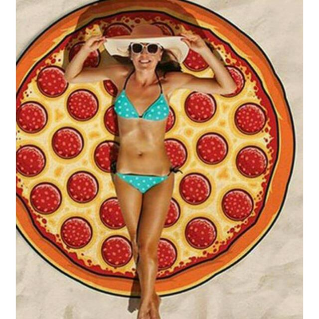 Pizza Beach Throw