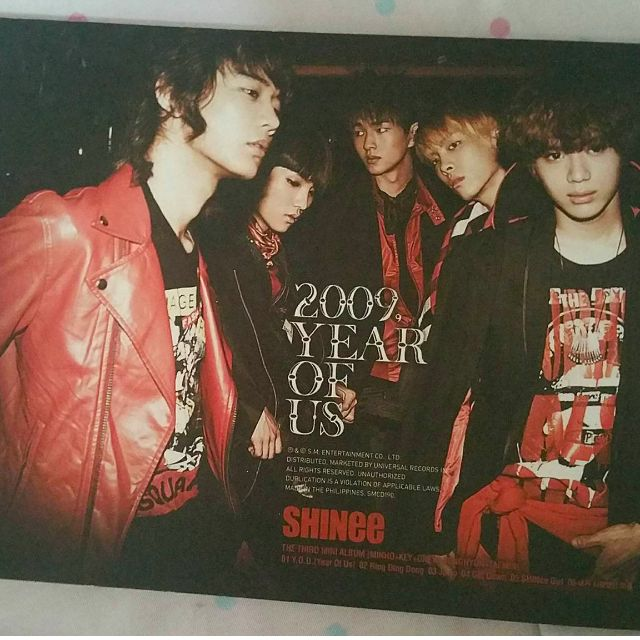 Shinee 2009 Year of Us (RingDingDong)
