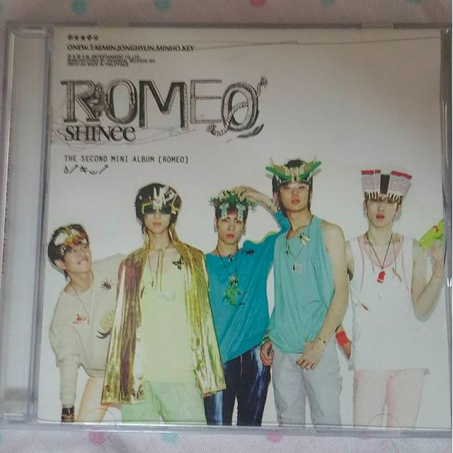 Shinee's Mini-Album Romeo