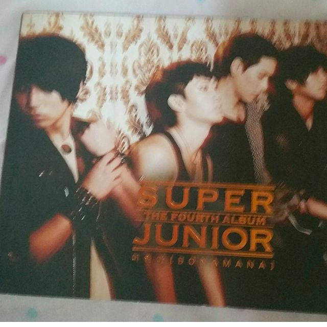 Super Junior Bonamana Version A. (Ryeowook Photocard)