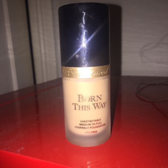 Too Faced Born This Way Foundation Shade: Warm Nude