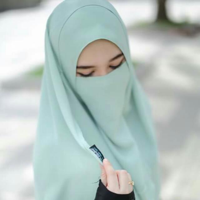 tudung labuh cantik purdah niqab elegant women s fashion clothes