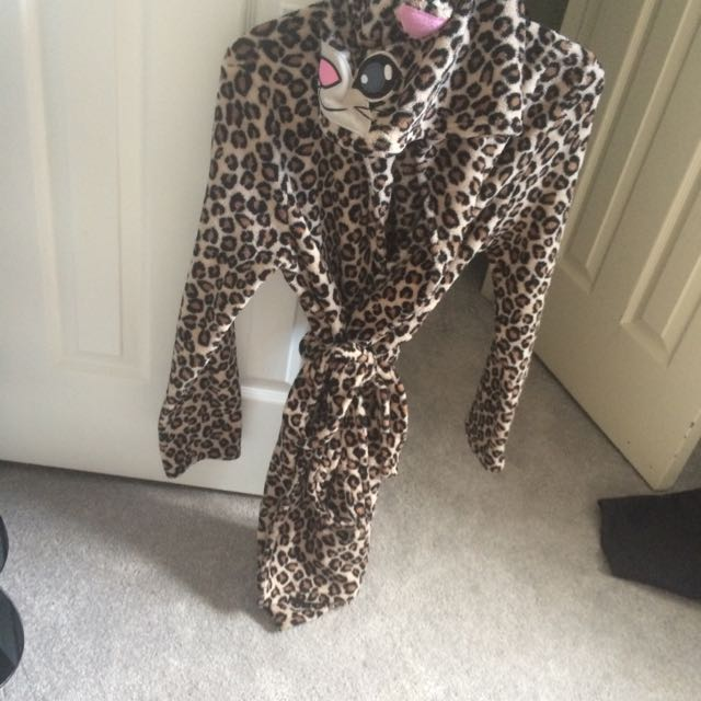 Urban Planet Cheetah Robe