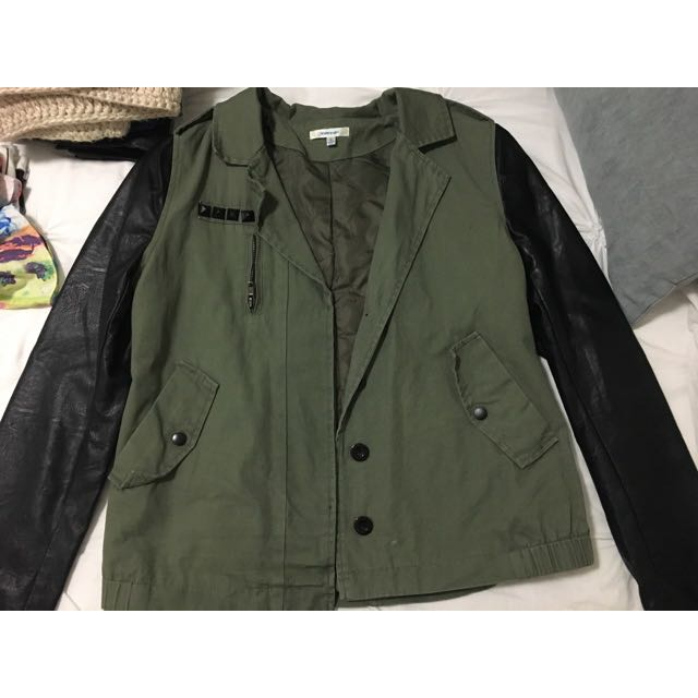 Valley girl Khaki Jacket