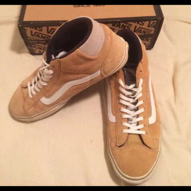 Vans Mid Skool Bone Brown Size 10