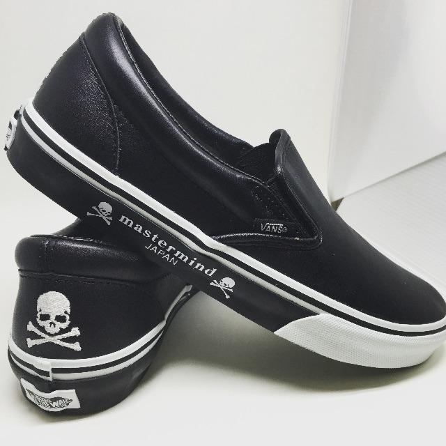 VANS x MASTERMIND JAPAN SLIP-ON 懶人鞋