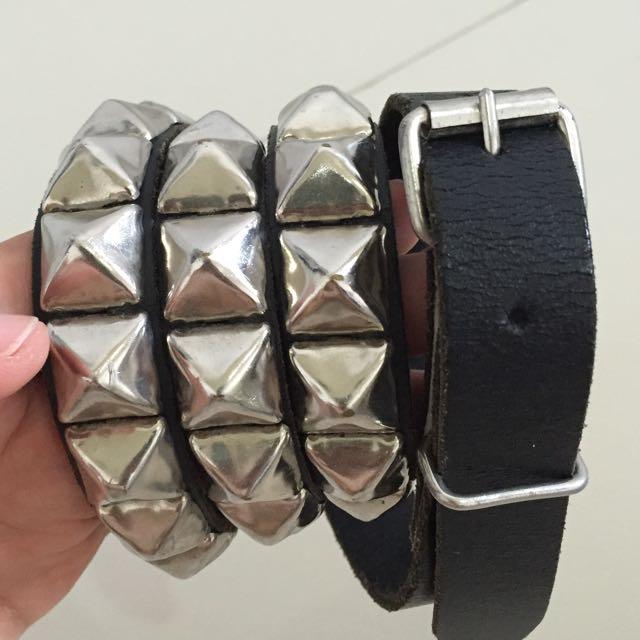 Wendy's Studded Belt