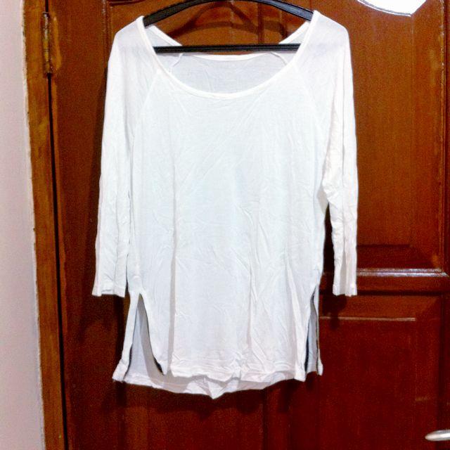 White Loose Tshirt