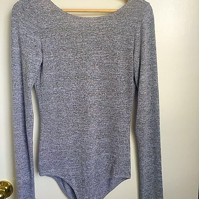 Wilfred Ash Grey Bodysuit