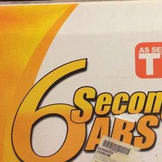 6 Second Abs Workout Set