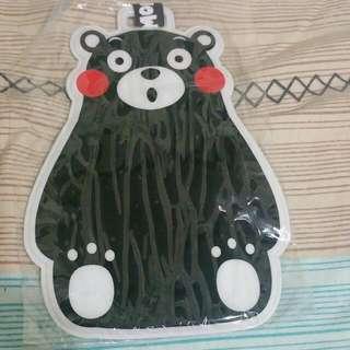 熊本熊行李牌
