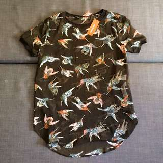 Joe Fresh Bird Top