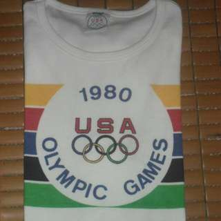 Vintage 1980 Levi's Olympic T-shirt