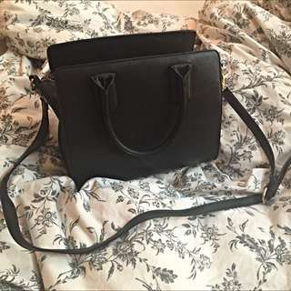 Forever 21 Black Purse Bag