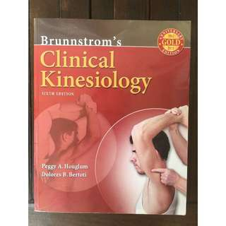 Book textbooks carousell philippines brunnstroms clinical kinesiology by houglum and bertoti 6th edition fandeluxe Image collections