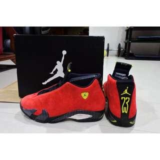 Air Jordan 14 Retro紅色