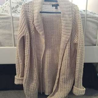 Light Pink Chunky Cardigan