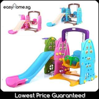 Swing Slide (4 Color) - Extended Slide/ Water Inserting Area To Stabilise Slide