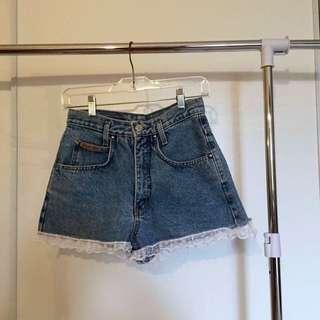 Apache Denim shorts!
