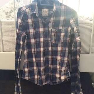 Hollister Plaid Shirt