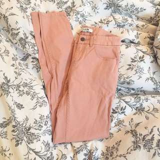 Forever 21 Light Pink Skinny Pants