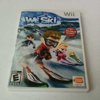 We Ski Nintendo Wii Game