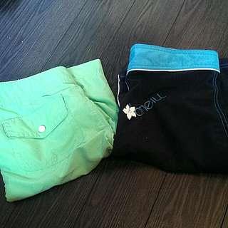 2 Surf Shorts