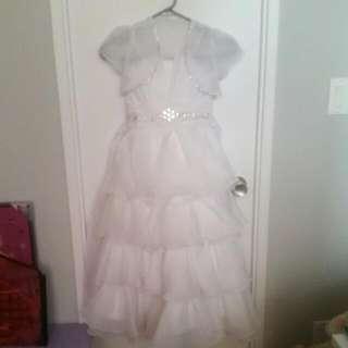 SIZE 6 WHITE DRESS