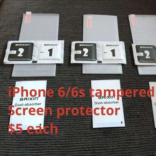 Tempered Glass Screen Proctors For All iPhones